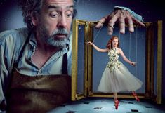 Annie Leibovitz's Fairytale Photoshoots - her latest starring Amy Adams and Tim Burton