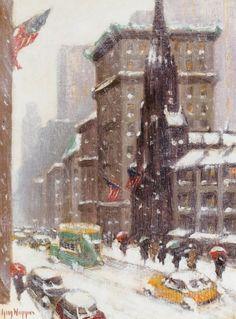 Guy Carleton Wiggins, Fifth Avenue at 55th Street