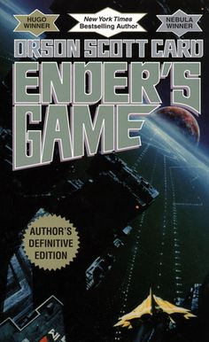 Ender's Game by Orson Scott Card Ender Saga book 1 Saga, Science Fiction Books, Fiction Novels, Love Book, Book 1, Card Book, Book Nerd, Reading Lists, Book Lists