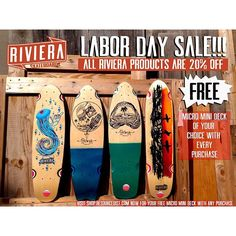 Riviera Skateboards - Skateboards and Longboards for the masses - CALIFORNIA