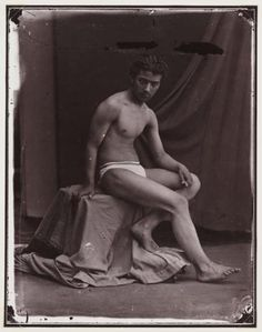 Get a six pack (Artist's Study, c. 1857, Oscar Gustav Rejlander, The Royal Photographic Society Collection, National Media Museum)