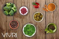 Alimentos que nos pueden ayudar a acelerar nuestro metabolismo: ✔Brócoli ✔Frijoles rojos ✔Manzana ✔Canela ✔Café ✔Espinacas ✔Jalapeños ✔Té verde #VIVRI #salud #nutrición