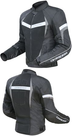 DRIRIDER AIR RIDE 2 JACKET BLACK GREY