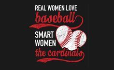 I need this shirt!! I'm so very smart! ;) Go Cardinals!!