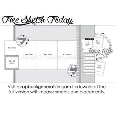Scrapbook Generation - SG Free Sketch Download: January 29, 2016, $0.00 (http://www.scrapbookgeneration.com/sg-free-sketch-download-january-29-2016/)
