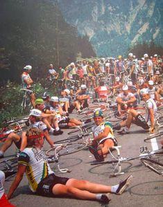 CYCLING ART BLOG: Friday File: Headbands vs Cycling Caps, Giro d'Vino, Chapeau Fuente & Campy Nuovo Record