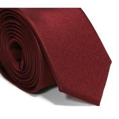 Cravate slim bordeaux - Sienne II
