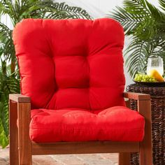 Outdoor Salsa Seat/ Back Chair Cushion , Outdoor Cushion