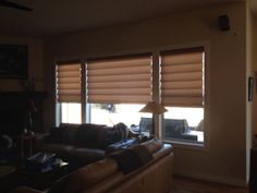 Hunter Douglas Vignettes within a client's home
