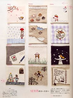 Stitch Ideas Vol.11 Japanese embroidery craft by MeMeCraftwork