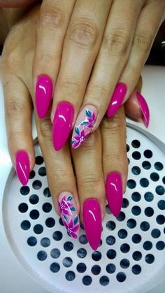 Colorful Nail Designs, Beautiful Nail Designs, Acrylic Nail Designs, Nail Art Designs, Pastel Pink Nails, Pink Nail Art, Pastel Colors, Gorgeous Nails, Pretty Nails