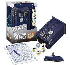 Doctor Who Yahtzee!!