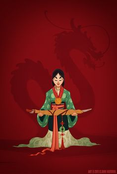 Mulan (Wei Dynasty, Western Han Dynasty & Ming Dynasty Influences) Photo: Claire Hummel