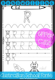 ... handwriting worksheets lower case upper case letters handwriting