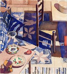 Charles Sheeler: Study for American Interior, 1934, 1934