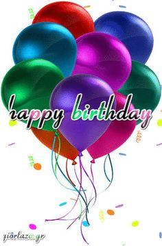 Animated Happy Birthday Wishes, Happy Birthday Wishes Photos, Free Birthday Card, Happy Birthday Fun, Birthday Wishes Quotes, Happy Birthday Greetings, Birthday Cards, Downtown Photography, Holiday Gif