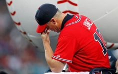 Chipper Jones Honored by Braves.