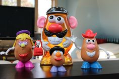 Who doesn't like Mr. Potato Head? This is the whole #family! Got it as Costco. #toys #kids