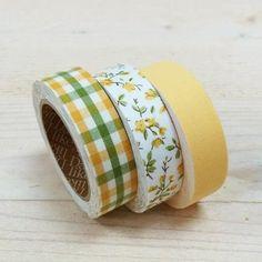 Trio Fabric tape, cinta adhesiva tela, Enfant