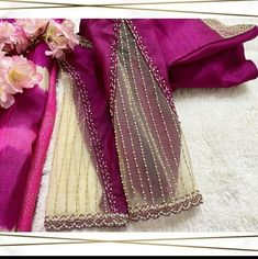 Saree Jacket Designs, Cutwork Blouse Designs, Simple Blouse Designs, Blouse Designs High Neck, Stylish Blouse Design, Bridal Blouse Designs, Sleeves Designs For Dresses, Designer Blouse Patterns, Model