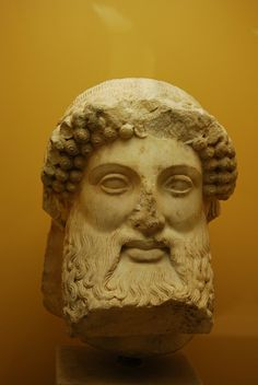 Herm head    Marble Herm head (510-500 BC) - Museum of the Ancient Agora, Athens