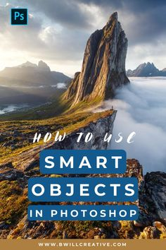 Ever wondered what a smart object is for in Photoshop? This Photoshop tutorial breaks down how to use smart objects and why they're a must use tool for anyone working in the program. #PhotoshopTutorial #PhotoshopTips #SmartObjects #BeginnerPhotoshop #PhotoEditingTips Photoshop Tutorial, Photoshop Actions, Photography Tutorials, Photography Tips, Profile Website, Gaussian Blur, Editing Photos, Edit Your Photos, What You Can Do