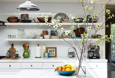 10 Gorgeous Takes on Open Shelving in Kitchens