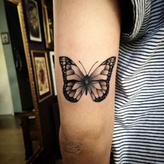23 Magical Butterfly Tattoos
