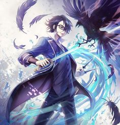 Saruhiko Fushimi - K Project,Anime