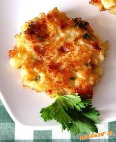 Show details for Recept - Placky z kysaného zelí Potato Recipes, Vegetable Recipes, Vegetarian Recipes, Cooking Recipes, Healthy Recipes, Slovak Recipes, Czech Recipes, Ethnic Recipes, Cooking Light