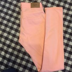Divided by H & M Red Concept jeans Divided light melon orange skinny jeans. Great condition size 8 Limited by Red Concept Jeans Skinny