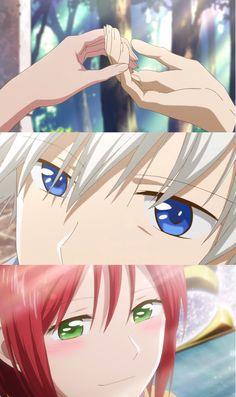 Akagami no Shirayuki - Zen has such beautifull eyes
