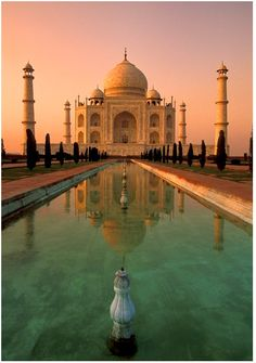 taj majal, india I have to say one of the most beautiful, most peaceful places I have ever been.