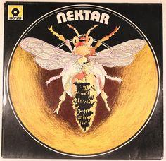 Nektar - s/t - Horzu/Bacillus BLPS BLPS 19224 - Germany, 1976 Lp Cover, Cover Art, Decorative Plates, Germany, Vintage, Vintage Comics, Deutsch, Primitive