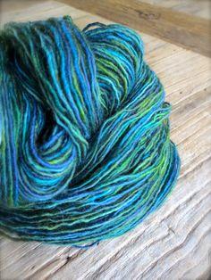 aegeus  hand dyed yarn superwash merino wool by pancakeandlulu, $18.00