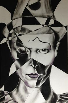 Ashes to Ashes by FangamerBowiextreme on DeviantArt. #DavidBowie #Music #Rock #Art