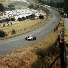 Looks like John Surtees at the German Grand Prix 1965