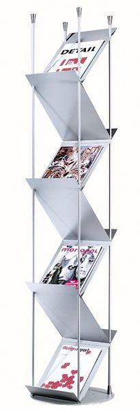 Professional Prospektständer für Empfang, Wartebereich von Lourens Fisher Topdeq - Büromöbel & -accessoires!