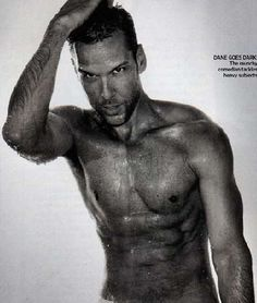Dane Cook - I guess laughter does work a body good...