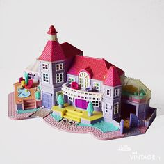 Jouet Polly Pocket vintage Magical mansion - Hello Vintage shop