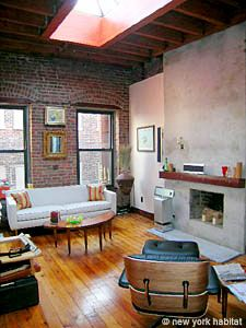 New York Tribeca Loft Exposed Brick And More Out The Windows