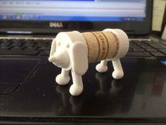 cork puppy by EHM.