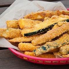 Baked Zucchini Fries. Serve with ranch dressing or marinara sauce for dipping.