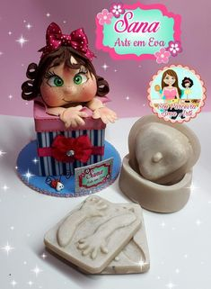 Foam Crafts, Diy And Crafts, Art For Kids, Polymer Clay, Christmas, Nirvana, Halloween, Decorated Boxes, Beautiful Things