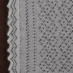 Orenburg shawl close-up