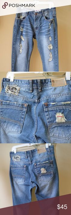 ffc5b068c7f681 Jordan Craig Legacy Etd Artisan Distressed Jeans If you like Distressed  Jeans then These are the