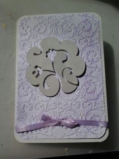 Cricut and cuttle bug bow too Lynne Toops