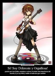 Resultado de imagen para imagenes de animes rockeros