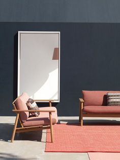 The Riva Collection, a set of outdoor furniture by Jasper Morrison