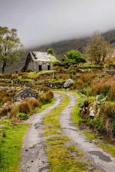 I have been to this house - the Gap of Dunlowe, Ireland